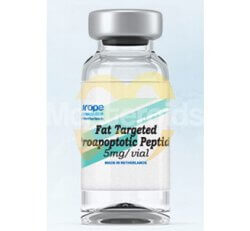 Fat Targeted Proapoptotic Peptide
